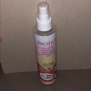 Pacifica island vanilla hair and body mist